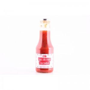 Suc de rosii cu pulpa 480g